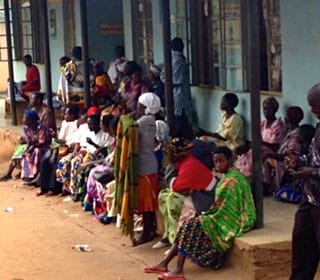 Patients in Kasambya