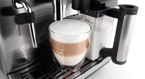 Saeco's patented Latte Perfetto technology is introduced in 2012