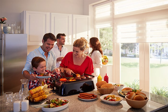 Philips Portable Electric Infrared Indoor Grill
