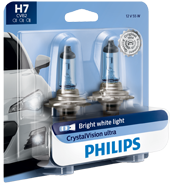 Philips CrystalVision ultra upgrade headlight bulbs