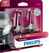 Philips VisionPlus upgrade headlight bulbs