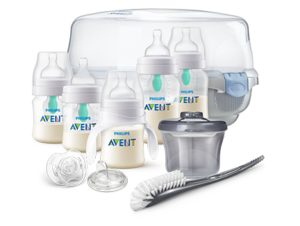 Anti-Colic Starter Set With Sterilizer