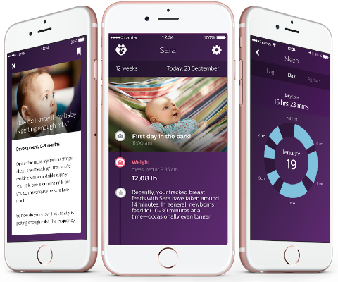 Download uGrow App Philips Avent