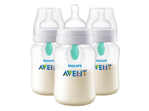 Philips Avent anti-colic baby bottle with vent