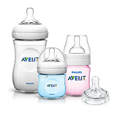 Philips Avent Natural Baby Bottle Range