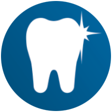 Electric tootbrush whiter teeth icon