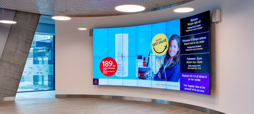Digital advertising screens - Philips