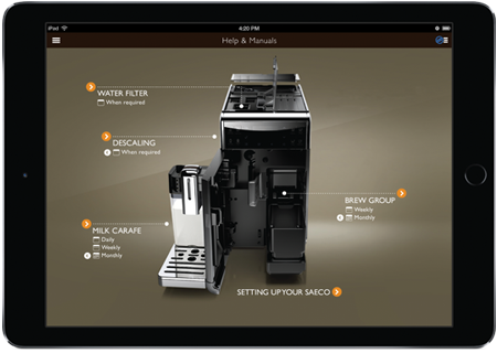 Application GranBaristo